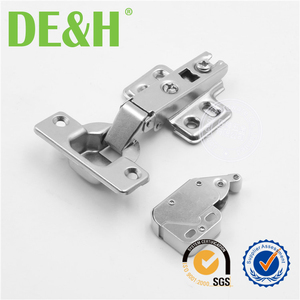 good quality iron push to open cabinet hinge