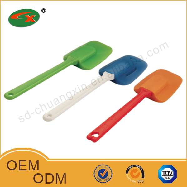 Heat resistant silicone non-stick kitchen utensils and cook ware