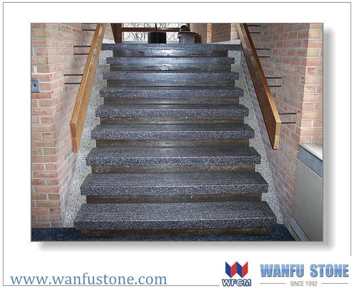 Vente chaude et bon prix granit escalier marbre escalier for Prix d une plaque de marbre