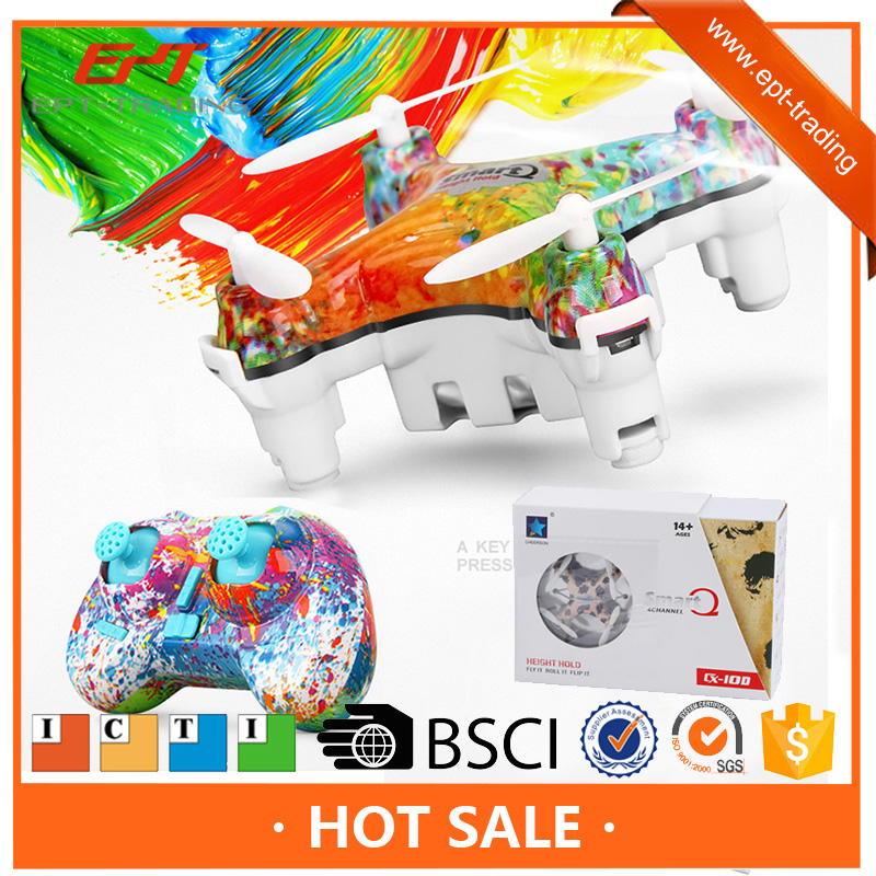 Excellent color printing kids 2.4G 4CH mini rc toy drone for sale