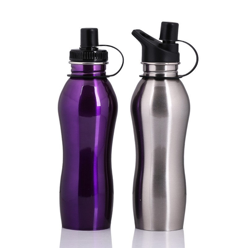 750ML Stainless Steel Sports Water Bottle Flask Jar My Bottle Great for Camping Hiking Cycling Travel bottle Outdoor