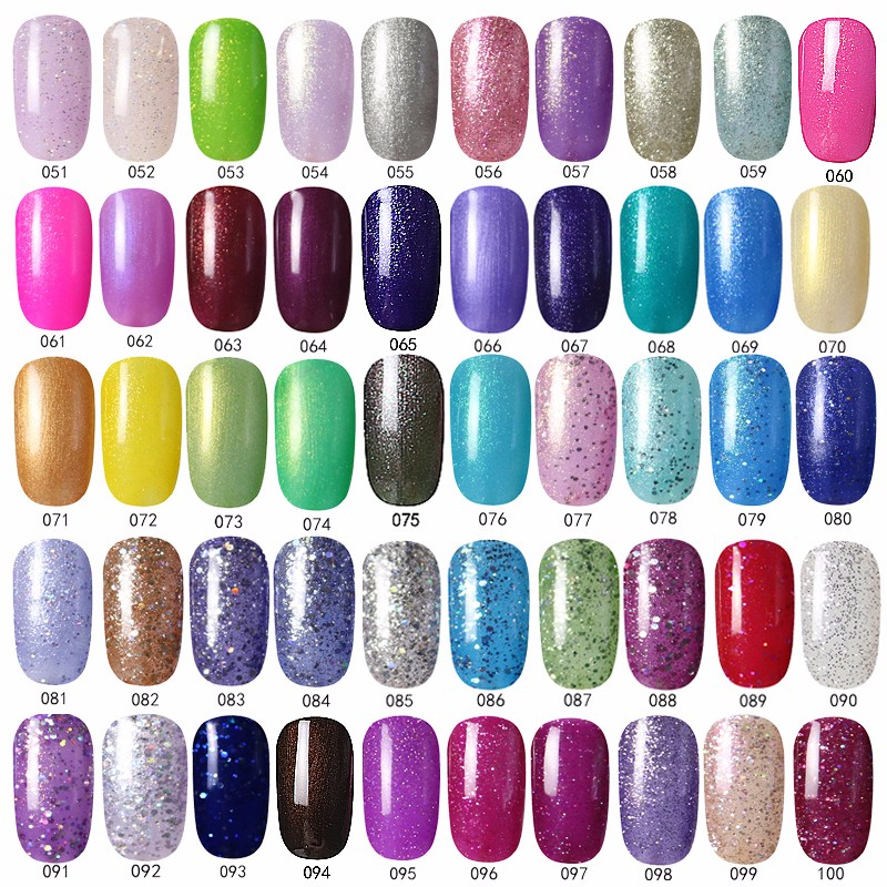 Hnm 1990 116 300 Colors Uv Led Gel Nail Polish Type Soak