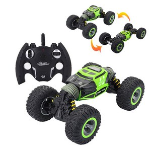 4WD Double-sided R/C Car One Key Transformation RC Rock Crawler All-terrain Off-Road Remote Control Car