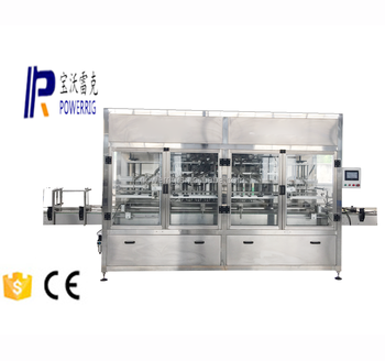 Volumetric liquid filling capping machine