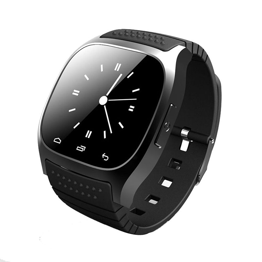 Chinatera Waterproof Smartwatch M26 Bluetooth Smart Watch Wrist Watch Sync Phone Mate Pedometer For Apple IOS Android Smart Phone