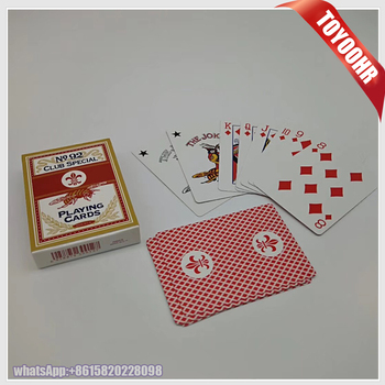 280gsm food pattern paper material  card custom playing cards ...