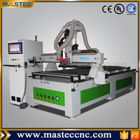 ATC CNC Router Machine With Carrousel Tool Magazine & Auto Feeding Device