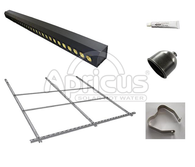 2014 Hot Sale Solar Hot Water Heater Parts for Easy Installation