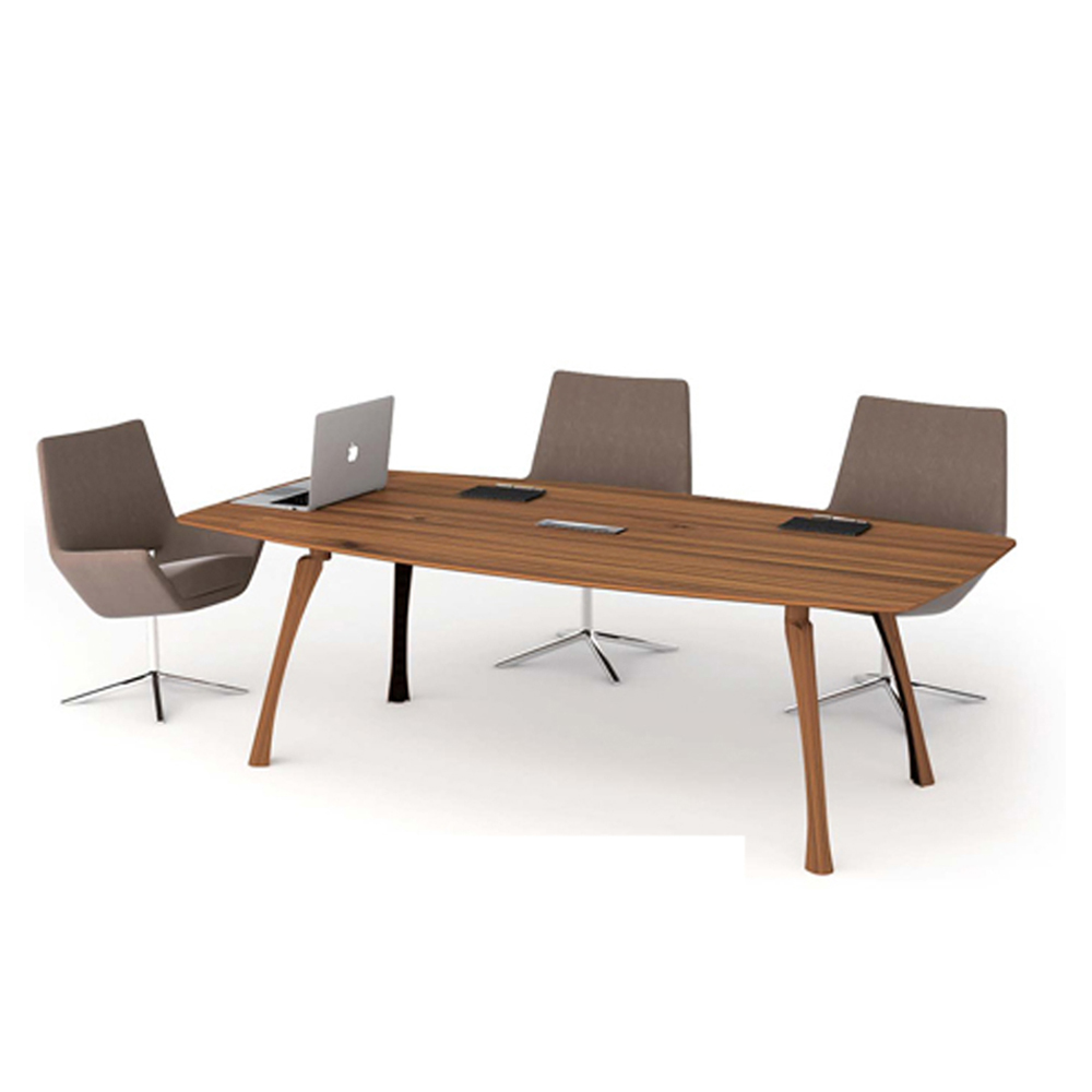 escritorios de oficina de la conferencia al por mayor en forma de l para sala de