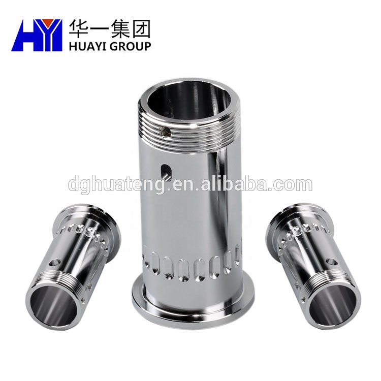 Precision CNC machining fabrication service clean medical equipments parts