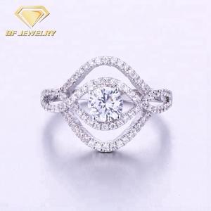 925 China Diamond Rings