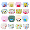 1 Piece Baby Training Pants Baby Diaper Reusable Nappy Washable Diapers Cotton Learning Pants 12 Designs