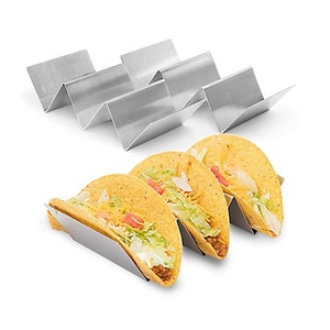 Food Grade Oven Safe for Baking Stainless Steel Taco Stand and Rack Holds