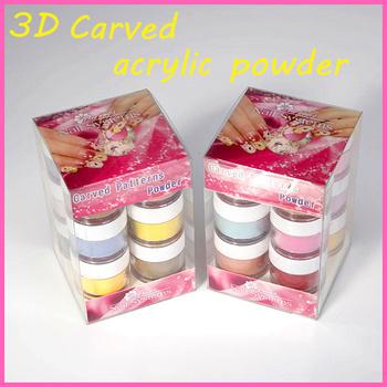 Nail Art Acrylic Nail Powder Dipping Powder For Dip Powder Nails