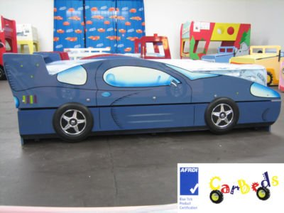 Racing Car Trundle Bed