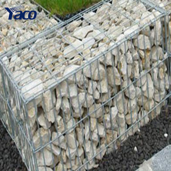 4mm 6mm wire diamerer 1*1*1m 2*1*1m 0.5*0.5m box size wall mounted basket wire cages rock retaining wall gabion baskets for sale