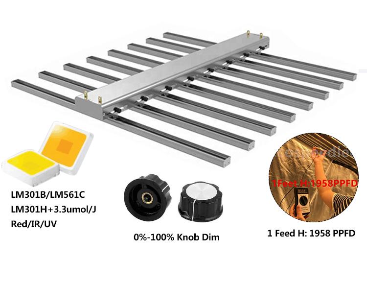 Best Product Quantum Board Led Grow Light Beam Angel Adjustable 60 260 Degree 1000w