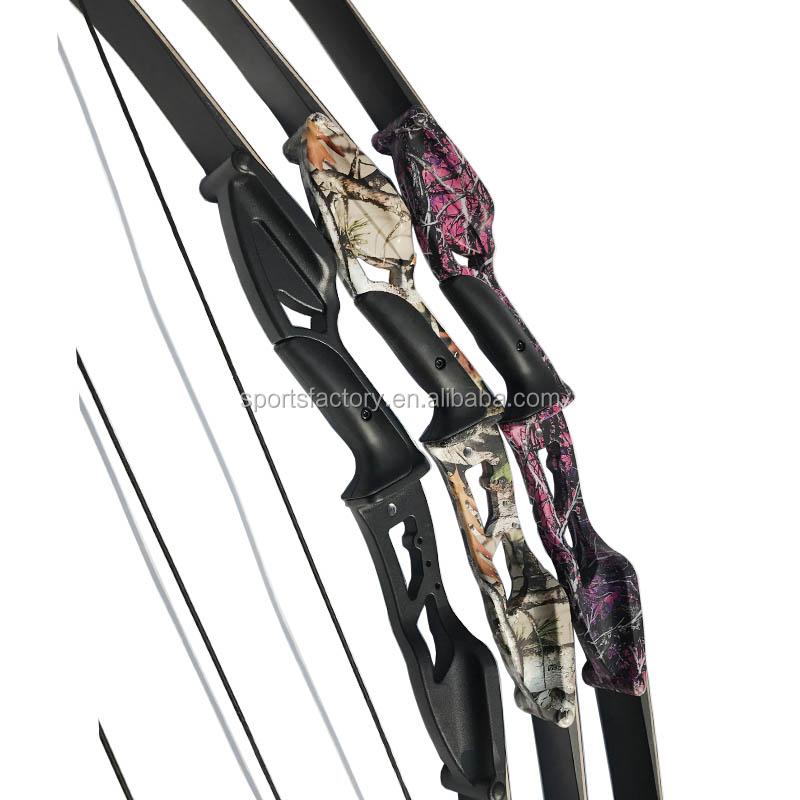 d37ff4c35 Tiro com arco de alumínio recurvo arco 30-50lbs 56inch arco e flecha tiro  tag