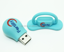 Good sale customized silicone USB flash drive cover for promotional gifts
