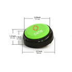OEM Plastic Battery Play Back Small Electronic Recordable Sound Button 3v Buzzer