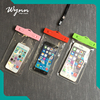 China suppliers cheap clear waterproof bag mobile phone cover