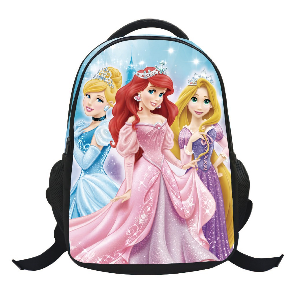 7e9f531e1fc Get Quotations · Hot Sale Sofia the First Children s Cartoon School  SchoolBags Student Trolley Backpack Bag For Girls Kids