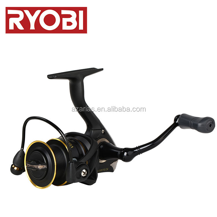RYOBI VIRTUS 1000-4000 series ,Gear Ratio 5.1:1 Ball Bearings 4 , spinningFishing full metal spool Fishing reel