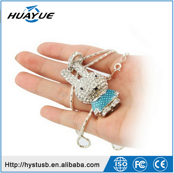 promotional gift customzie logo crystal usb flash drive