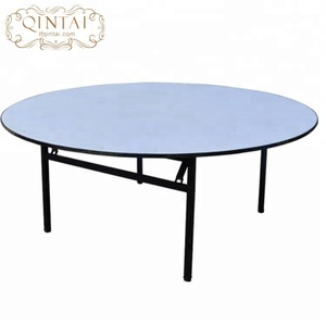 Cheap wholesale wedding round banquet table for sale