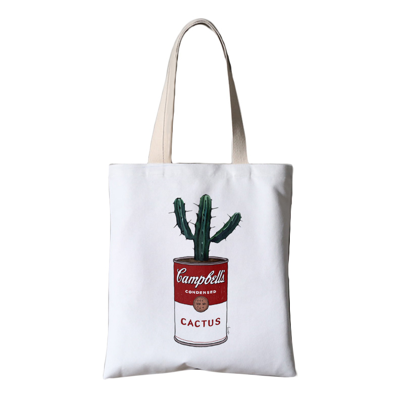 Factory Reusable Customized Standard Size Cotton Canvas Shopping Canvas Tote Bags For <strong>Promotion</strong>