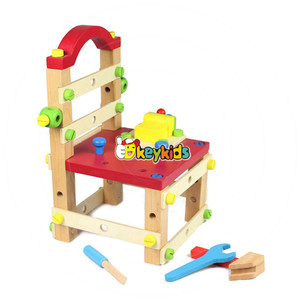 wholesale wooden tools chairs toy exercise children intelligence,creative and high quality wooden tools chairs toy W03D026