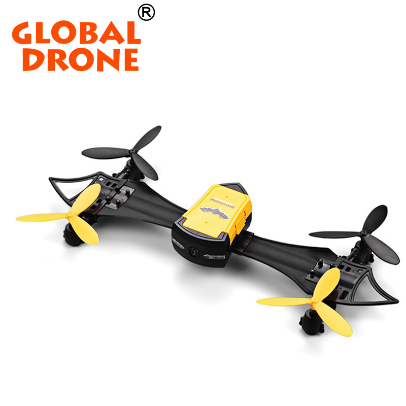NEW Global Drone CX-70 BAT 2.4GHz 4CH Dron WiFi FPV Quadcopter RTF Altitude Hold RC Drones With Wearable Wrist Watch
