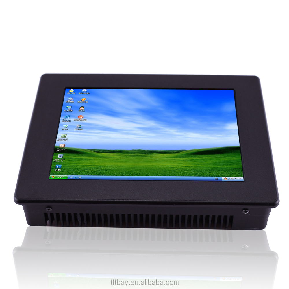 8 inch N2800 rugged 1024X768 industrial embedded panel pc