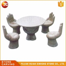 Bon Hand Shaped Stone Stone Table And Chairs, Hand Shaped Stone Stone Table And  Chairs Suppliers And Manufacturers At Alibaba.com