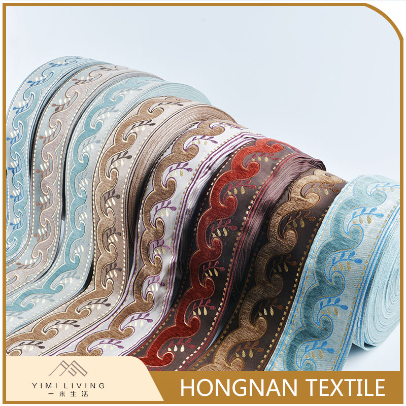 Different kinds of low price woven jacquard classical turkey trimming