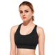 Crane cross Cross Cropped Cross Open Back Sports Bra