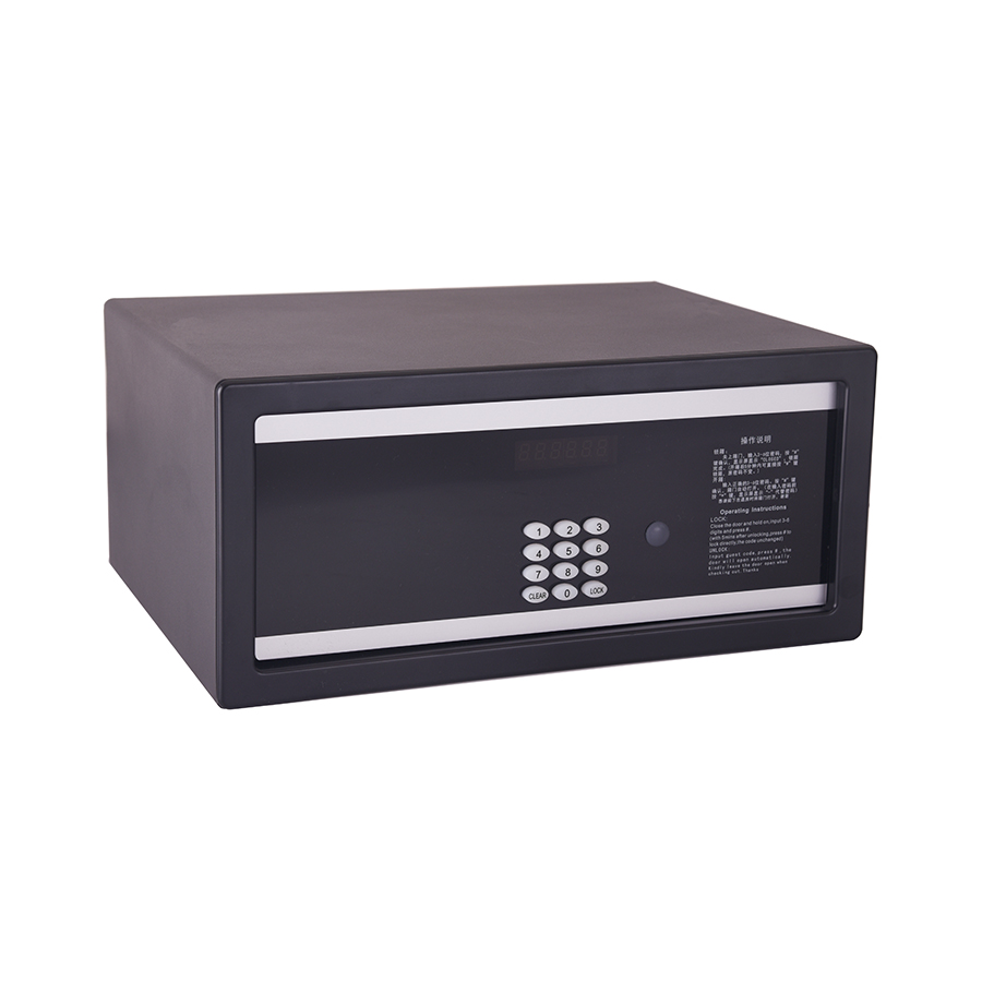 Black color safe deposit box keys big size safe box