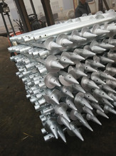 top ssle galvanized stainless steel screw piles (factory direct supply)