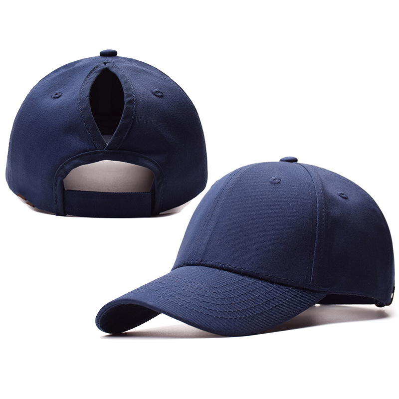 Wholesale Lower MOQ Cotton Ponytail Baseball <strong>Hat</strong> Women