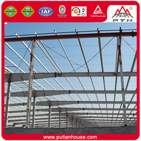 Easy install modern easy to maintain prefabricated construction warehouse building