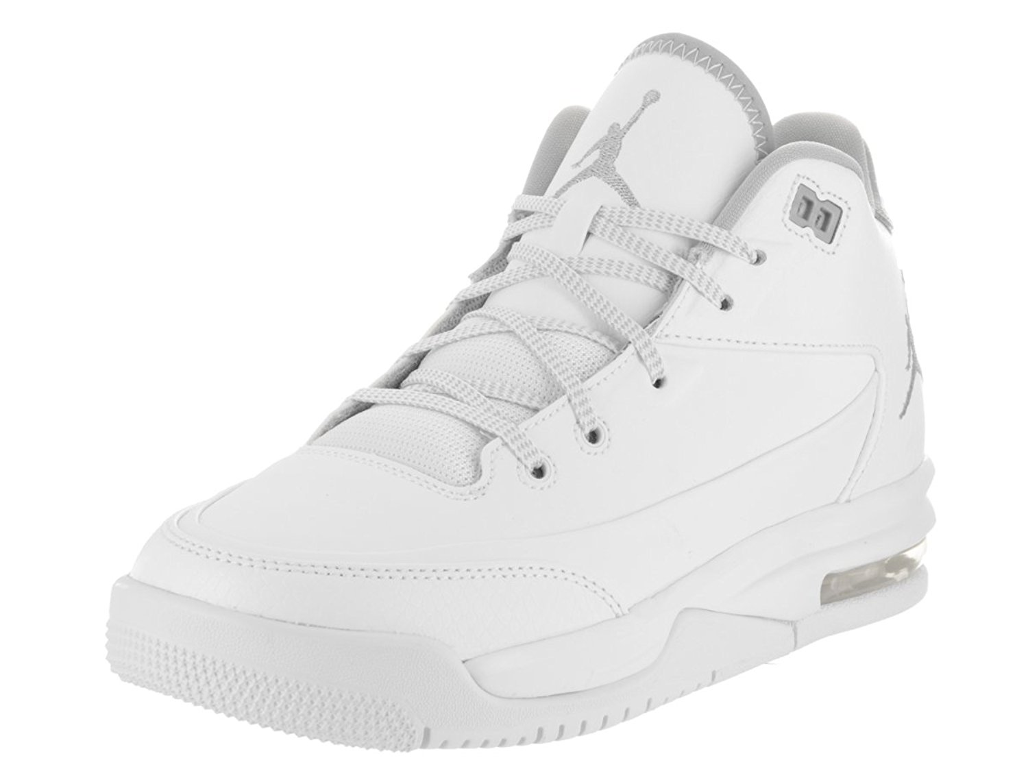 competitive price 8a65a 1946a Get Quotations · Jordan Flight Origin 3 White Metallic Silver-White (Big Kid),  6.5