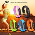 2016 NEW Wearable devices Smart E06 Wristband smart watch Health sleep tracker for Android IOS Smartphones