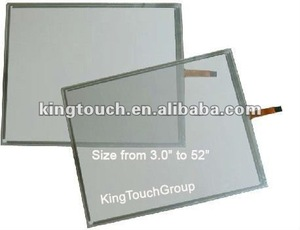 15.4 inch 4 Wire Resistive Touch Screen Panel Kit