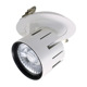 30 Watt round COB commercial ceiling light adjustable 0-10 dimmable led downlight light
