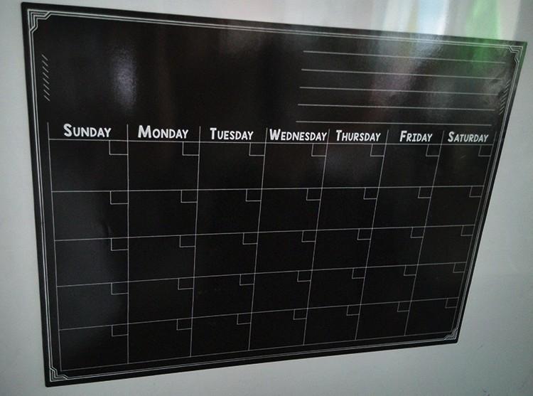 Kühlschrank Einkaufsliste Magnet : 2016 neue design kalender kühlschrank magnetische kalender täglichen