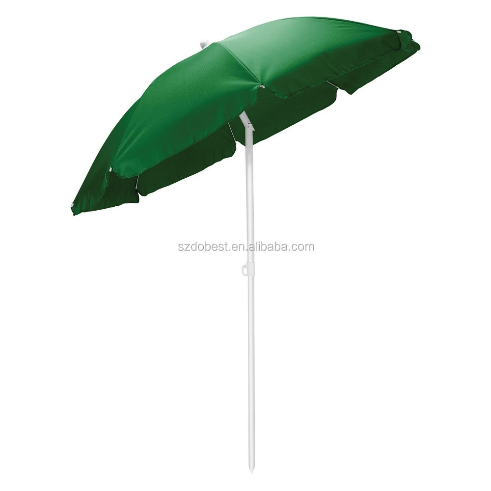 New coming long lasting sun blocking tilt beach umbrella from China
