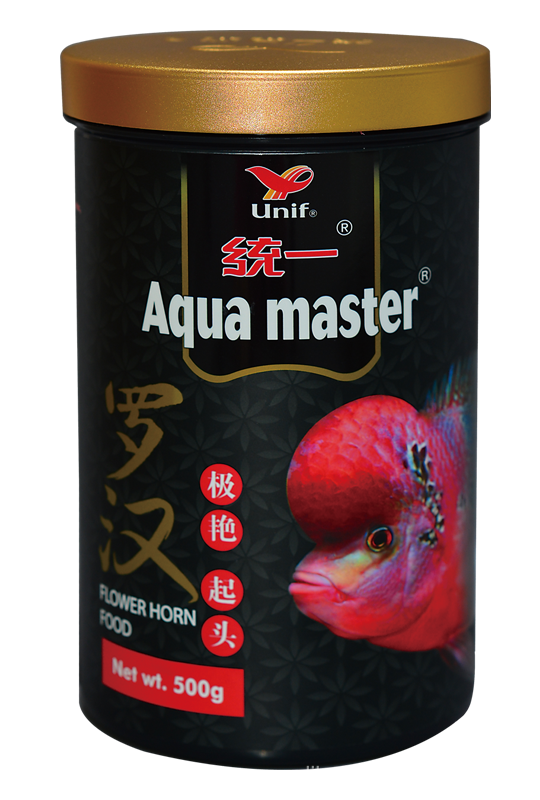 Aqua Master,Flower Horn Fish Food,Forehead Plumped,High Protein ...