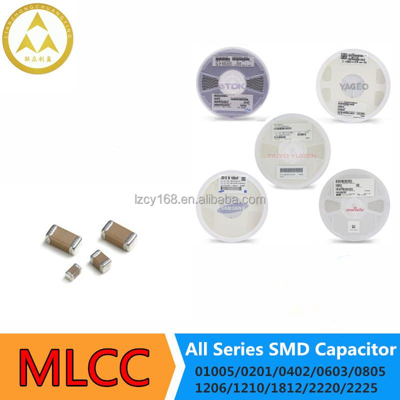0805 100V 250V 10/% SMD Condensador 1NF-100NF SMT Surface Mount Chip Capacitors