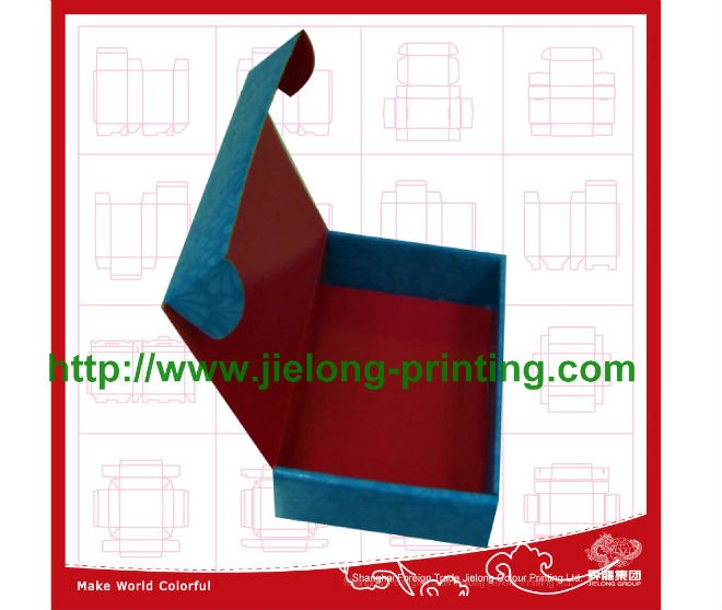 Newly Design Logo Printed Square Paper Storage Cartons