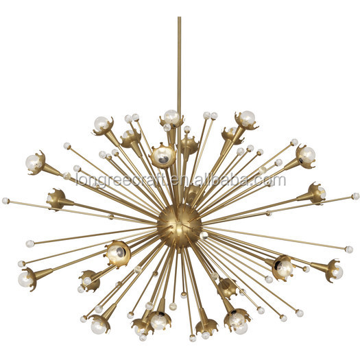Contemporanea Lampade D'oro Dispersione Big Bang Sputnik Lampadario Light Fixture